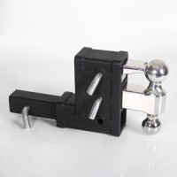 BT-2 Drop Hitch 7.5 Adjustable 2 Receiver Shank Truck Tow Parts By Hefei Baobab Auto Parts Co., Ltd